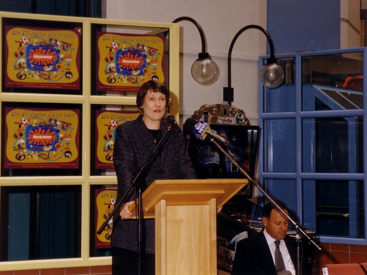 The new ward is opened in 2000 by Prime Minister Helen Clark